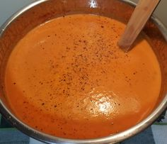 Pressure cooker Tomatoe Basil Soup - taste and adjust seasonings to your preference Image