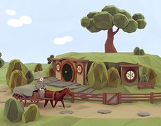 """Check out new work on my @Behance portfolio: """"Lord of the Rings - A Low Poly Parody Animation"""" http://be.net/gallery/60394887/Lord-of-the-Rings-A-Low-Poly-Parody-Animation"""