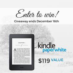 Win a #KindlePaperwhite!
