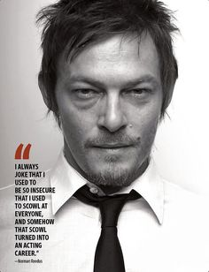 Norman Reedus in EW