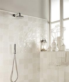 Contemporary bathrooms 132504414022752414 - Kitchen tiles wall white interior design new ideas Source by lesmistrals Kitchen Wall Tiles, Room Tiles, White Interior Design, Bathroom Interior Design, Bad Inspiration, Bathroom Inspiration, Steam Showers Bathroom, Bathroom Taps, Contemporary Bathrooms