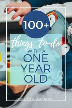 One-year-old toddlers are full of personality and energy! Here are over 100 playful activities and things to do with your one-year-old.
