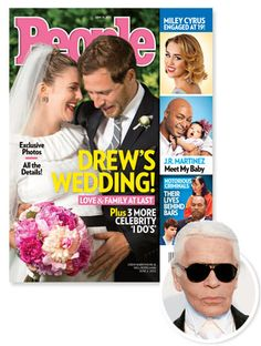 #KarlLagerfeld on #DrewBarrymore's wedding gown: 'It fit her strong personality' http://news.instyle.com/2012/06/07/drew-barrymore-wedding-dress-chanel-karl-lagerfeld/