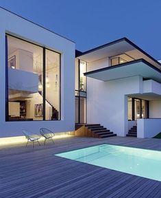 "4,729 Me gusta, 40 comentarios - Architecture & Design (@_archidesignhome_) en Instagram: ""Vista House designed by Alexander Brenner Architects Location: #Stuttgart #Germany . #luxury…"""