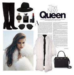 """The New Queen"" by gabby-kezia on Polyvore featuring Rumour London, Kate Spade, Anouki, 3.1 Phillip Lim, Olivia Burton and NARS Cosmetics"
