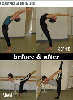 I don't need this for dance, but I would like to be more flexible for me, for my healthy life.--The benefits of the Esmonde Technique for Ballet (Before and after) Ballet Feet, Ballet Barre, Dancers Feet, Dance Teacher, Dance Class, Dance Studio, Ballet Class, Fitness Workouts, Pilates