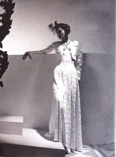 Ms Gabrielle 'Coco' Chanel - 1937 - Photo by Horst P. Horst (German-American, 1906-1999) - @~ Watsonette