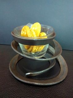 Sugar....cracker...or candle holder.....made on my RBR Metalcraft tool.....