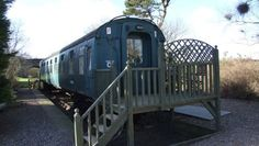 Railway Carriage, The Old Station, St Andrews