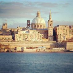 The Valletta seafront is one of the most iconic Malta photos.