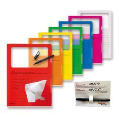 Visa Dossier Script Set A4 farbenrein | Bestswiss.ch