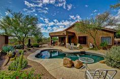 Arizona Homes by Angela: Enjoy Your Oasis Backyard With Pool And Amazing Sc...