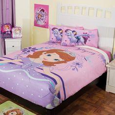Cobertor Fleece con Borrega Princesita Sofía  #Recamara #Niñas #Cobertores #Hogar #IntimaHogar  #Princesitasofia #Decoracion