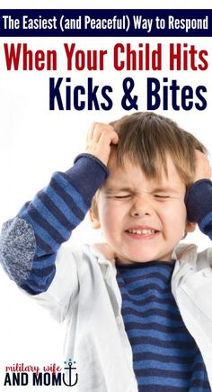Learn what to do when your child hits you. Effectively stop your child from hitting, kicking or biting others without yelling, time out or getting physical. Toddler hitting. Stop kids from hitting. Stop biting. Aggressive toddler behavior.