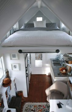 Attic/loft bedroom ideas: unusual spaces for-the-home