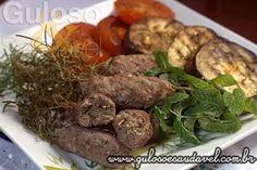 Hoje o #almoço é uma delicia de Kafta no Ramo de Alecrim! Quem aí curte? Eu amo o aroma e sabor!  #Receita aqui: http://www.gulosoesaudavel.com.br/2014/01/28/kafta-ramo-alecrim/