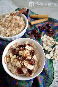 Porridge de arroz integral