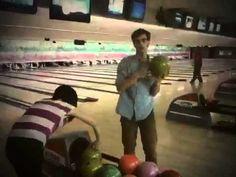 Matthew Gray Gubler Bowling