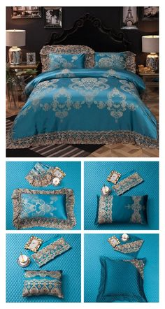 Visit our Store ProminentEmporium.com to check out the 10 Pieces Bedding Sets Collection with Luxury Bedding Sets. Like this Luxury Lace Bedding Set in 10 Pieces Set that will improve your overall bedroom decor and create a more comfortable sleeping environment for you. Having a 10 Pieces Bedding Set makes it so much easier to decorate your bed and make it the centerpiece of your bedroom decor. #luxury #bedding #duvet #duvetcover #beddingset #luxurybedding #10piecesset #10pieceset