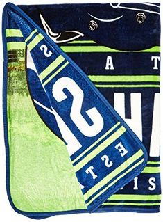Product review for The Northwest Company NFL Seattle Seahawks Stacked Silk Touch Blanket, 60-Inch by 80-Inch.  - Cuddle up and feel instantly cozy with a throw that feels like pure silk and will instantly become your new favorite. This OFFICIAL NFL Silk Touch Throw by The Northwest Company is vividly designed, and coordinated to match your favorite football team's true colors! Their team helmet is....  Continue reading at  https://www.bestselleroutlet.net/bedding/blank