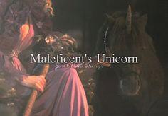 Maleficent's Unicorn. I think he's cute :)