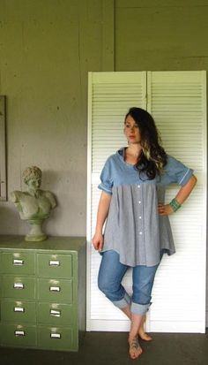 Eco+Bohemian+dress+Funky+Hoodie+top+upcycled+by+lillienoradrygoods,+$64.50