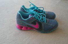 Colourful Nikes.