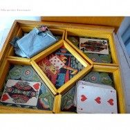 Boîte de jeu en bois le nain jaune, on y a joué des heures entières avec les Cousins/Cousines