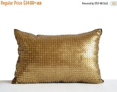Sale Gold Sequin Throw Pillow Covers Gift Gold by AmoreBeaute Navy Pillows, Gold Cushions, Throw Pillow Covers, Throw Pillows, Christmas Pillow, Birthday Presents, Wedding Anniversary, House Warming, Reusable Tote Bags