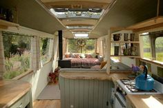 The Country Living Panoramic Bus | 10 Vintage Buses Transformed Into Stunning Mobile Homes