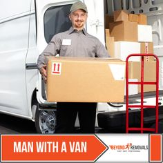 With Beyond Removal you can book the finest Man with a Van Service in the city of London. visit us at: http://www.beyondremovals.co.uk/man-with-a-van/ #man-with-a-van #beyondremovals #removalservices