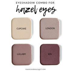Eyeshadows that Will Make Hazel Eyes Pop - Maskcara Beauty Girl Eyeshadow Green Eyes, Smokey Eyeshadow, Natural Eyeshadow, Best Eyeshadow, Makeup For Green Eyes, Smokey Eye Makeup, Colorful Eyeshadow, Eyeshadow Palette, Hazel Eye Makeup