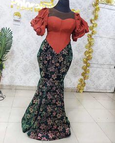 Nigerian Lace Styles Dress, Nigerian Wedding Dresses Traditional, African Lace Styles, Lace Dress Styles, African Print Dresses, African Dresses For Women, African Attire, African Fashion Ankara, Latest African Fashion Dresses