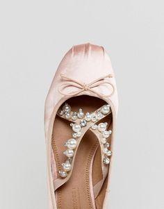 0c84aaa7cbfac ASOS LAVISH Embellished Ballet Flats at asos.com