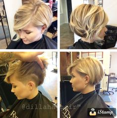 Amazing bob and undercut by Justin Dillaha