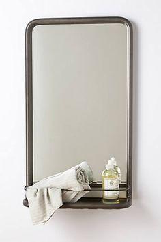 Miroir pour salle de bains Anthropologie