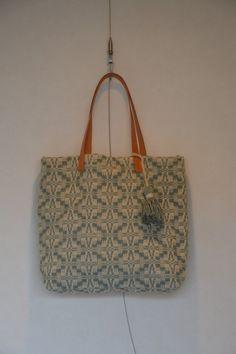 Wool Tote Bag_hand woven