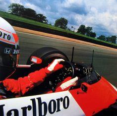 itsawheelthing:    up close & personal …Alain Prost, McLaren-TAG MP4/3, 1987 F1 world championship