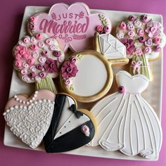Tutorials – Page 2 – The Flour Box Wedding Shower Cupcakes, Wedding Cake Cookies, Decorated Wedding Cookies, Heart Cookie Cutter, Heart Cookies, Cookie Cutters, Beautiful Wedding Cakes, Gorgeous Cakes, Royal Icing Cookies