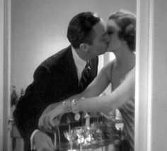 The Thin Man, shows the love between Myrna Loy and William Powell's characters, Nick and Nora Charles, who were a new illustration of marriage at the time.