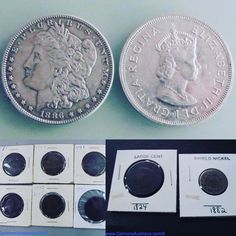 Several lots of American Currency spanning from 1782 onwards. Bids close Thurs, 26 Jan, from 11am ET. http://bid.cannonsauctions.com/cgi-bin/mnlist.cgi?redbird103/category/COINS