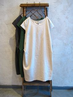 linen/cotton tunic dress