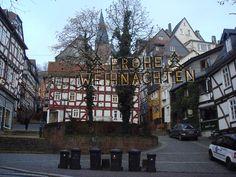 Marburg an Lahn - merry Christmas