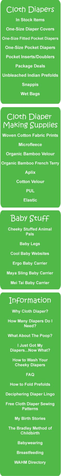 http://www.cheekydiapers.com/Free-Cloth-Diaper-Sewing-Patterns.html