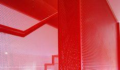 Hanging Red stairs _Elvaston Place, Kensington_ Michaelis Boyd Associates   Diapo Staircase