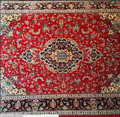 6x9FT Silk and Wool Persian Bijar Rug Collectible available at www.toossiruggallery.com