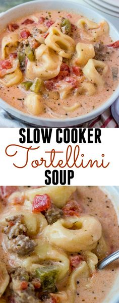 Creamy and delicious this Slow Cooker Tortellini Soup is filled with hearty veggies, meats, cheese and slow cooked until hot and yummy! Hello to the weekend! Do you all get those days where you simply don't want to write anything but just want to share what you have created? Yeah,[Read more]