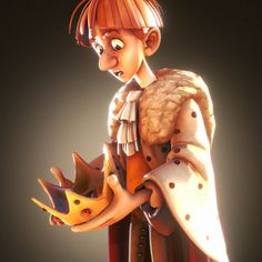 """Robin Hood King, Original concept by Christophe Fossard """"biboun"""" https://www.artstation.com/artwork/z09R6  Check out some processes on how it made the character here: https://forum.sketchfab.com/t/artist-in-residence-robin-hood-king/10638/31 https://sketchfab.com/models/ce28ba49eed54b84bcec959d7c439f33"""