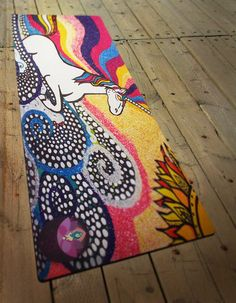 Das Eihorn yoga mat artwork