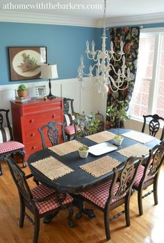 Dining Room Makeover-Reveal